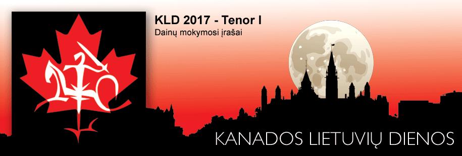 KLD2017 - Tenor I
