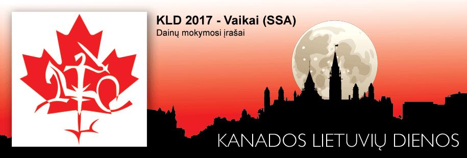 KLD2017 - Vaikai (SSA)