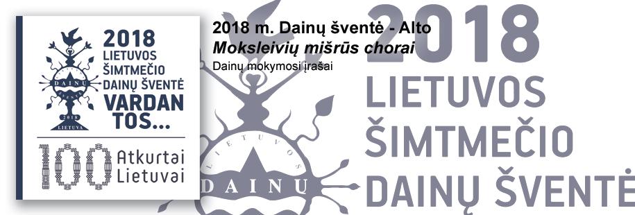 DŠ2018 - Moks. mišrūs - Alto