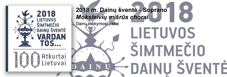 DŠ2018 - Moks. mišrūs - Soprano